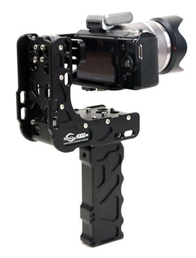 Стедикам Nebula 4000, компактный стедикам, стедикам для фотоаппарата, стедиам для мыльницы, удобный электронный стедикам, для легких камер, Sony A7s, A7s, mark2, Panasonic GH4,